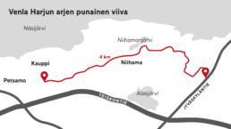 Venla Harjun arjen punainen viiva kulkee Kaupista Niihaman kautta Tampereen yliopiston bioteknologian laitokselle.