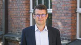 Kuvassa Tampereen kaupungin kaupunkiympäristön palvelualueen johtaja Mikko Nurminen. Kuva: Hanna Leppänen, Tampereen Kaupunki